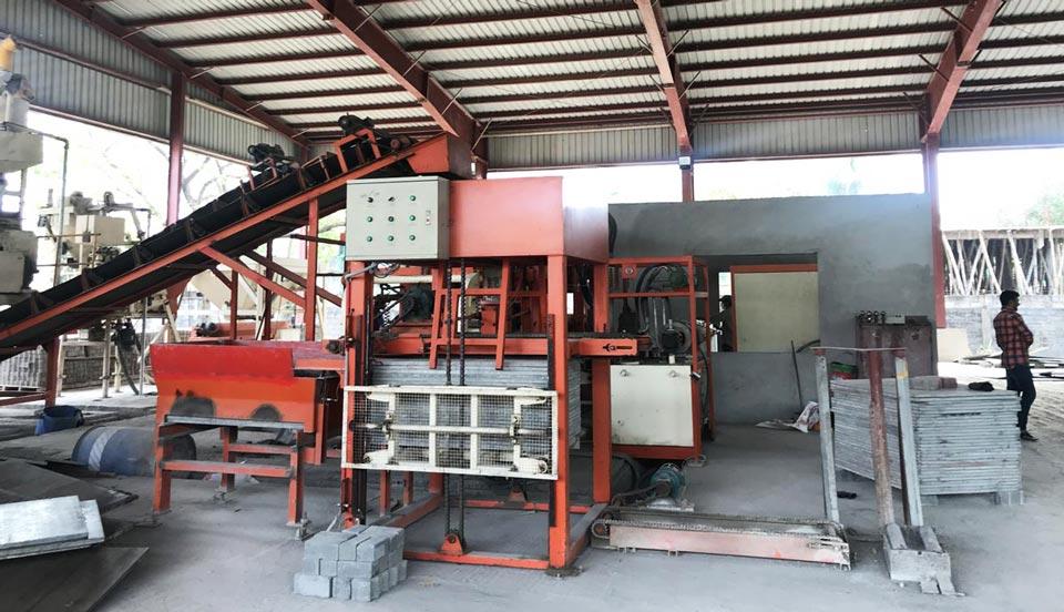 ABM-6S block machine installed in Bangladesh