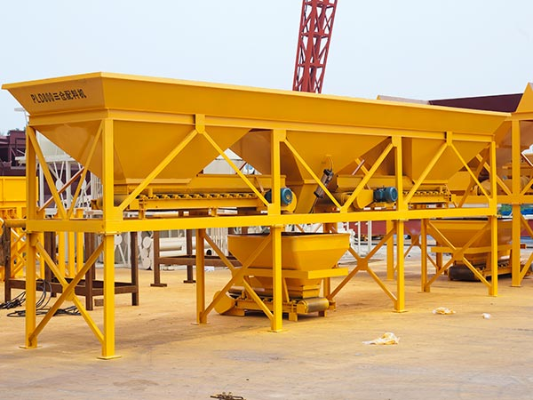 PLD800 aggregate batching machine