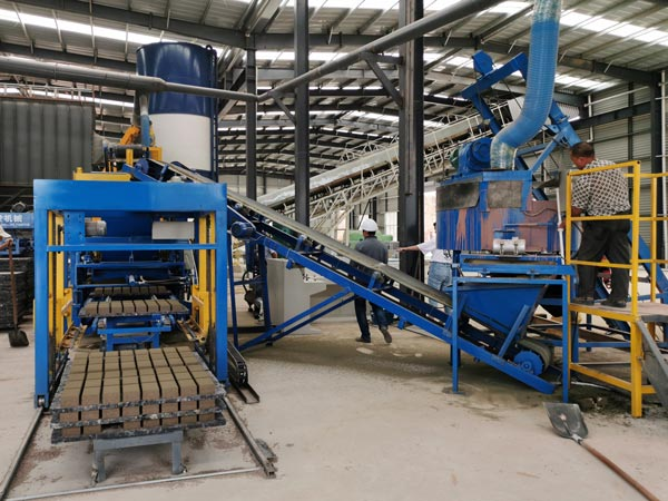 ABM-3S fly ash bricks production