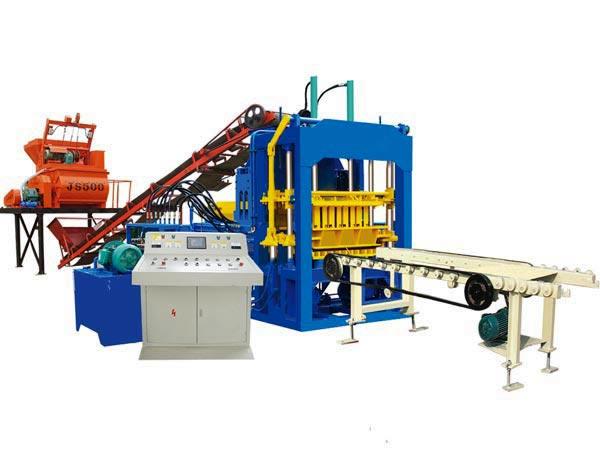 ABM-4S cement brick machine