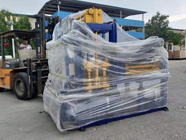 ABM-4S fly ash brick machine Philippines
