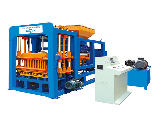 ABM-6S eco brick block machine