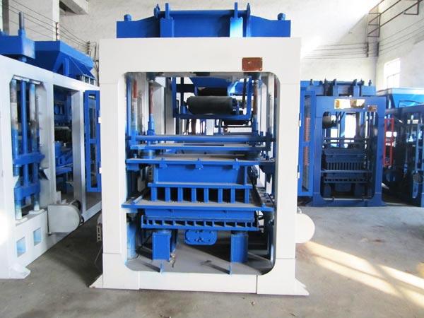 ABM-8S auto concrete bricks machine