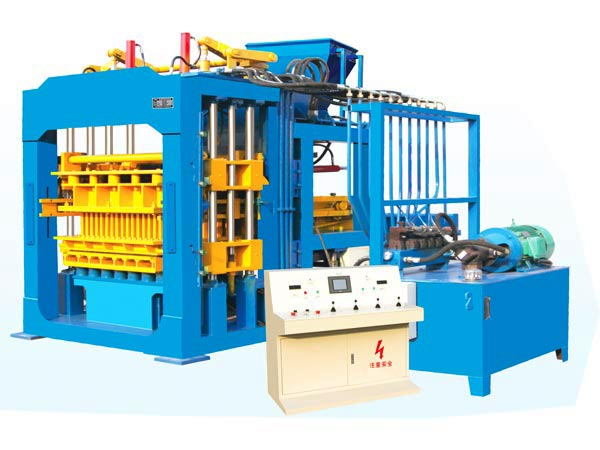 ABM-8S semi automatic fly ash brick machine