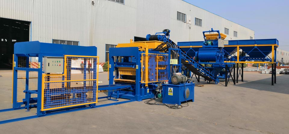 ABM series fully automatic fly ash brick machine