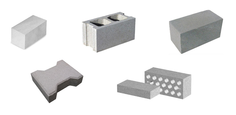different blocks