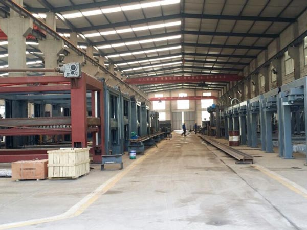 brick machine factory