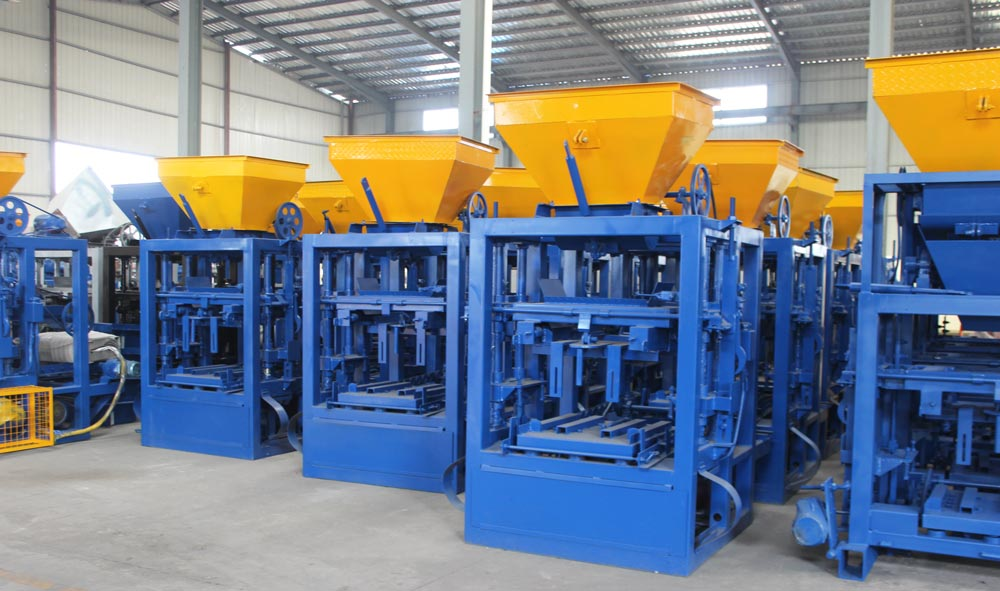 manufacturer of small brick machine