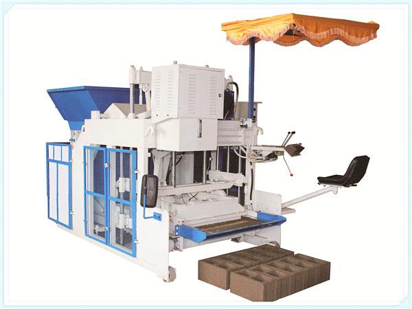 mobile brick manufacturing machine