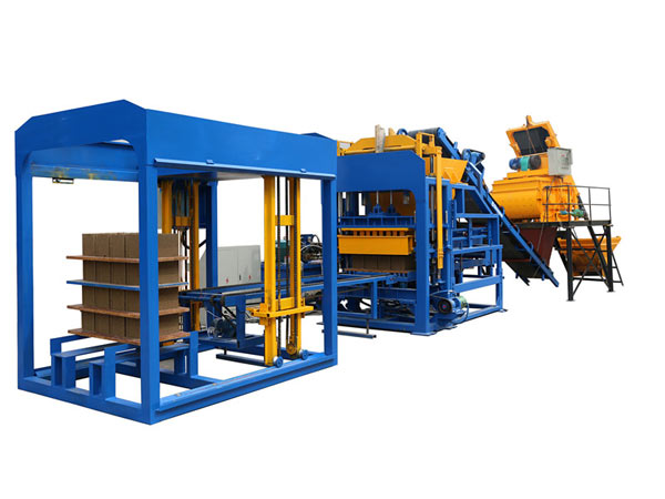 ABM-12S concrete hollow block machine