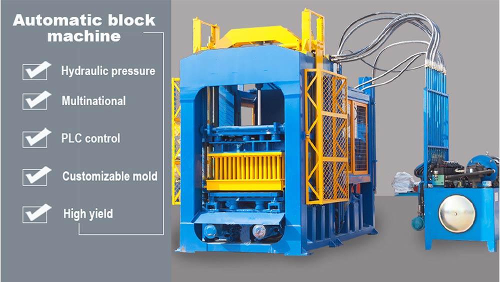 AIMIX brick machine