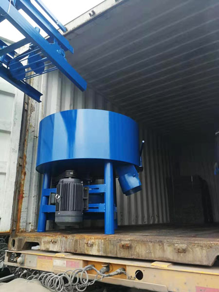 concrete pan mixer for ABM-4SE