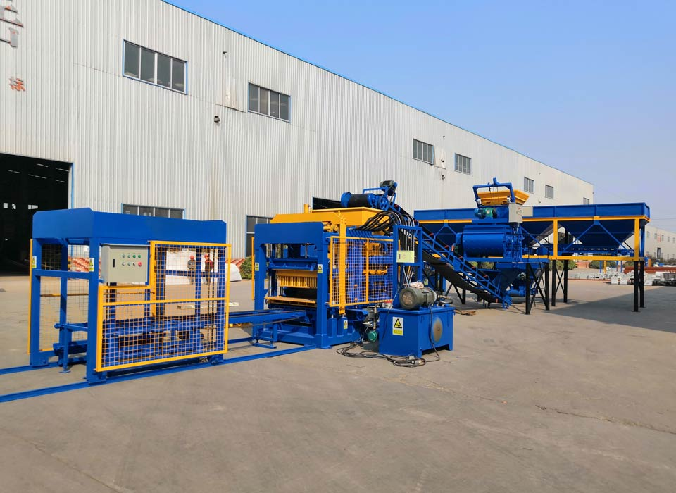 ABM-4S interlocking brick making plant
