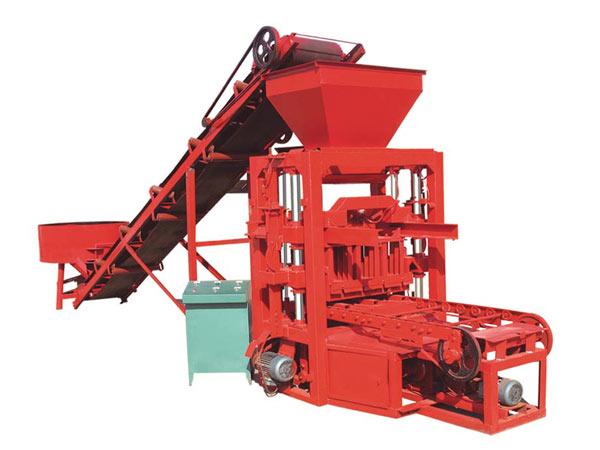 ABM-4SE concrete block machine