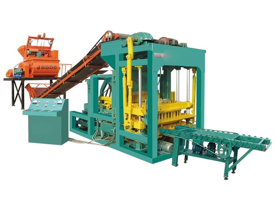 ABM-6S cement block making machine