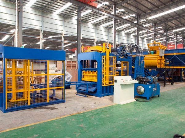 ABM-8S cement brick manufacturing machine