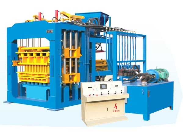 ABM-8S fully automatic concrete block machine