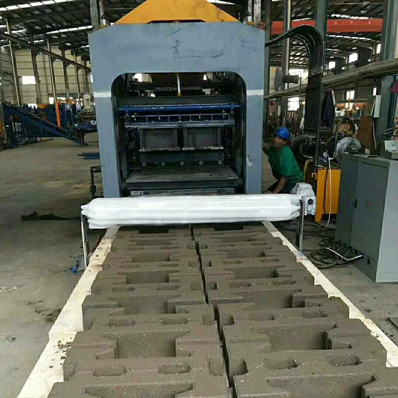 cement interlocking bricks machine