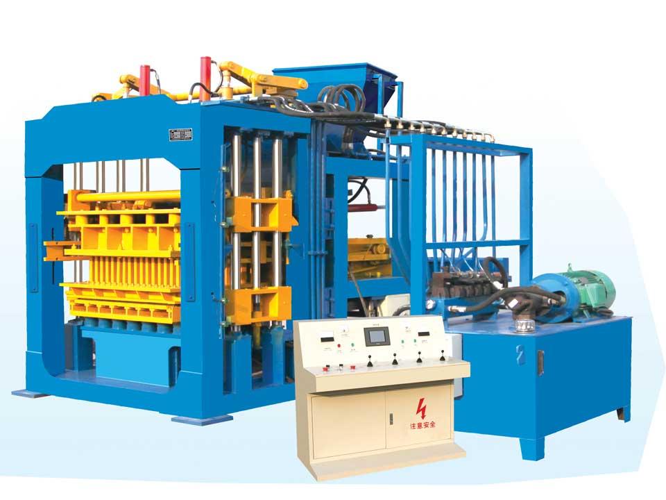 ABM-10S interlocking bricks machine