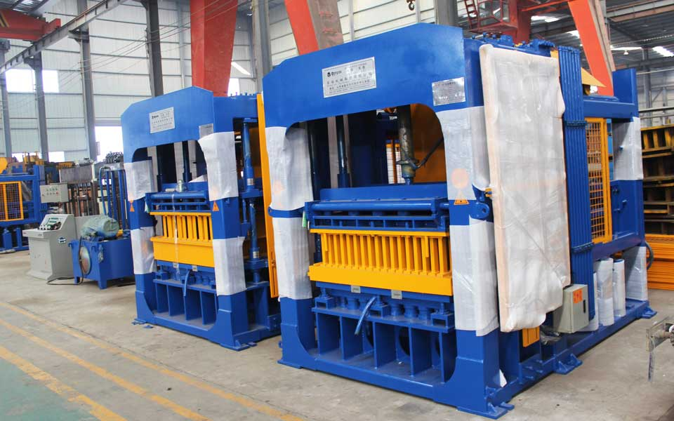 ABM-12S block moulding machine