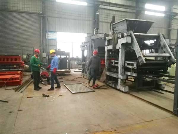 brick making machine factory