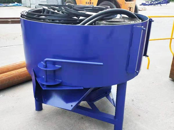 concrete pan mixer machine of ABM-4SE