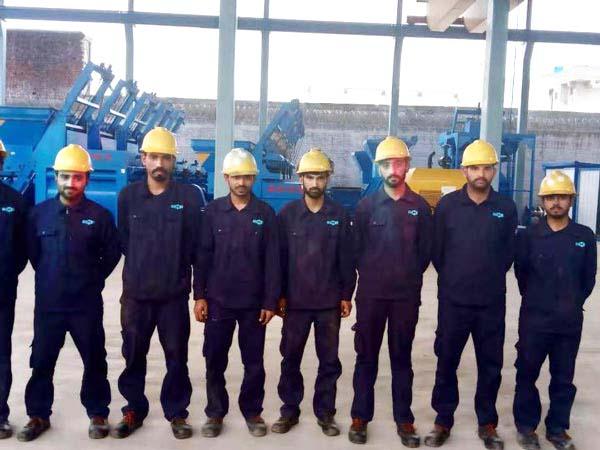 workers in Pakistan