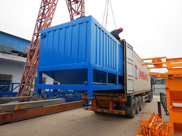 50 ton horizontal silo
