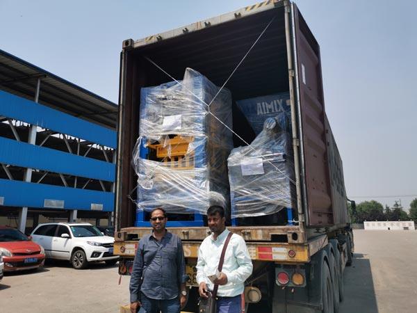 ABM-3S hollow block machine to Bangladesh