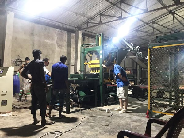 ABM-3S hollow brick machine