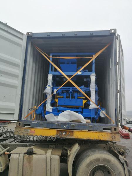 ABM-4C2 cement block machine nigeria