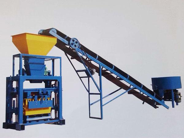 ABM-4C2 concrete block machine