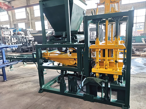 ABM-4S concrete block making machine Philippines