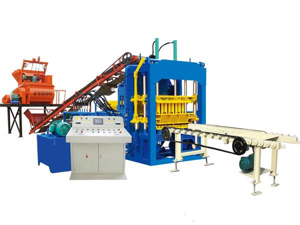ABM-4S fully automatic cement block making machine