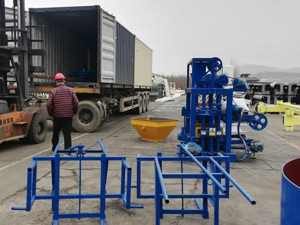 block machine to Nigeria