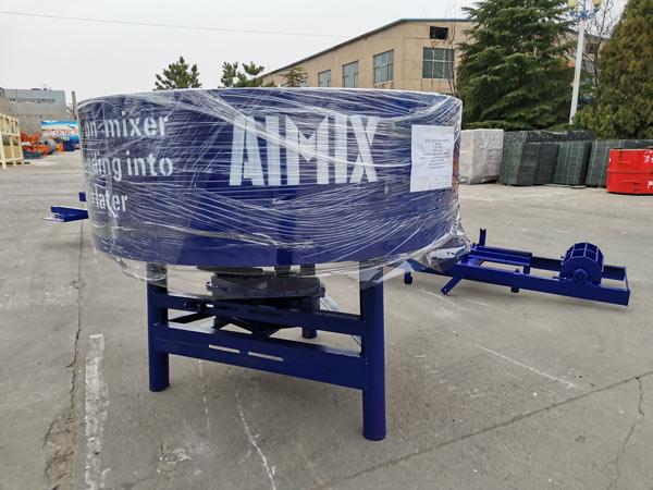 pengadun kon konkrit mesin pembuatan bata automatik