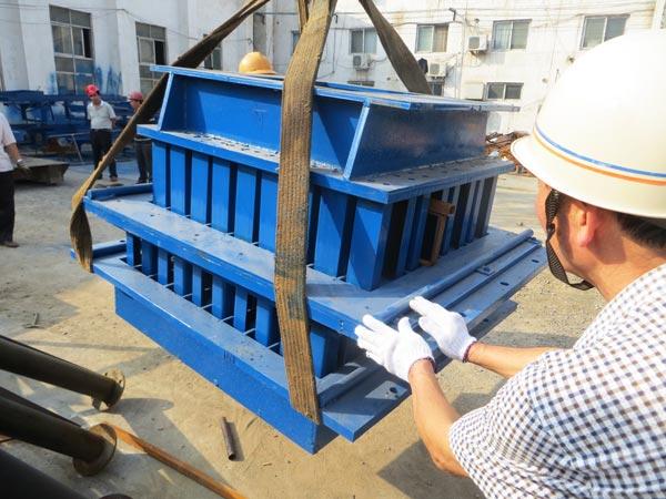mold of cement block machine