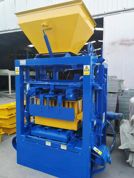ABM-4SE concrete hollow block machine Philippines