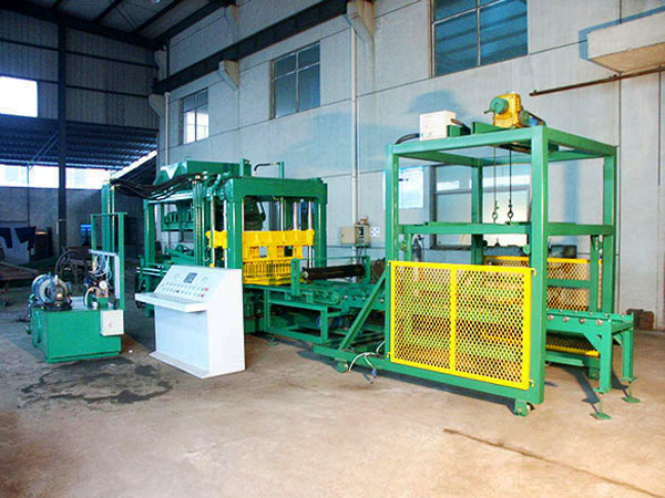 ABM-6S concrete block machine