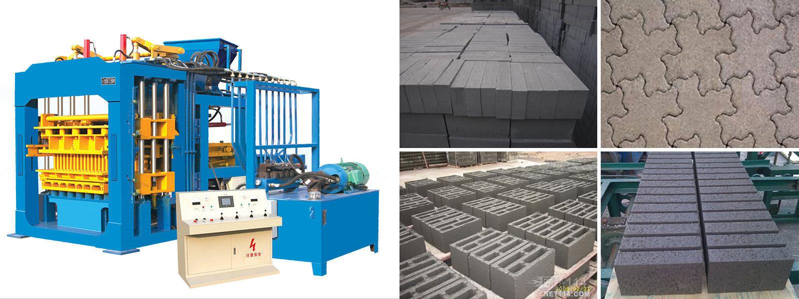 ABM-8S concrete block making machines