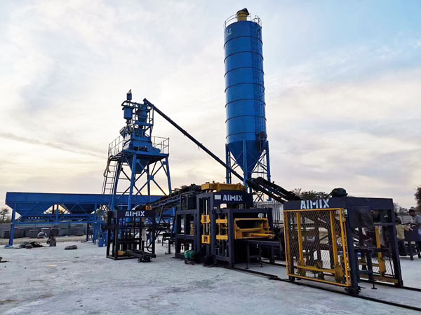 ABM-8S fully ecological brick machine