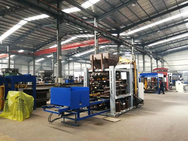AIMIX automatic concrete block machine workshop