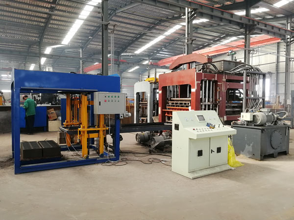 AIMIX automatic hollow block machine factory