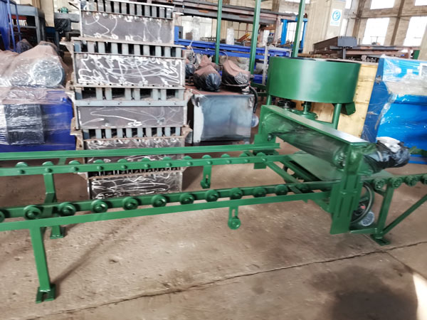 pan mixer of auto hollow brick machine