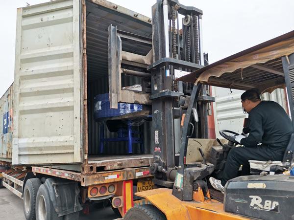 ABM-3S semi automatic cement block machine