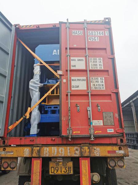 ABM-4S concrete block machine Jamaica