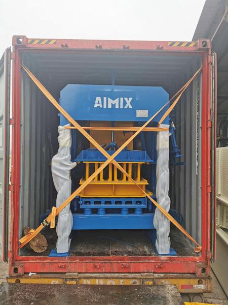 ABM-4S concrete block making machine Jamaica