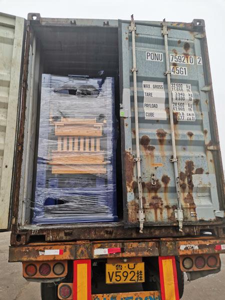 AIMIX cement block machine to Honduras
