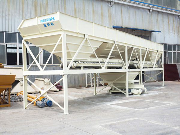 PLD1600 cold aggregate batching machine