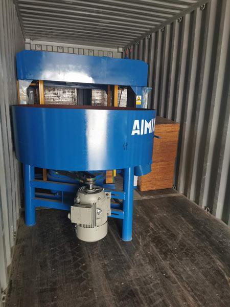 concrete pan mixer for ABM-4S